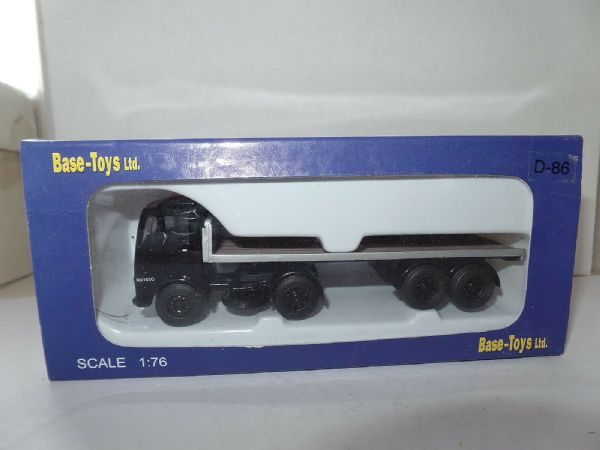 B T Models D-86 D86 Bristol HA Artic Flatbed British Road Services BRS Philblack